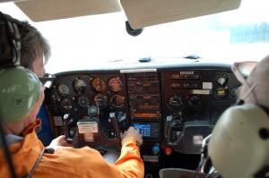 Pilottina Heikki H ja tehtävänjohtajana Markku E - OH-CMR palolento kesäkuu 2011